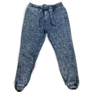 Brooklyn Industries Joggers Jeans Bleached Pull on
